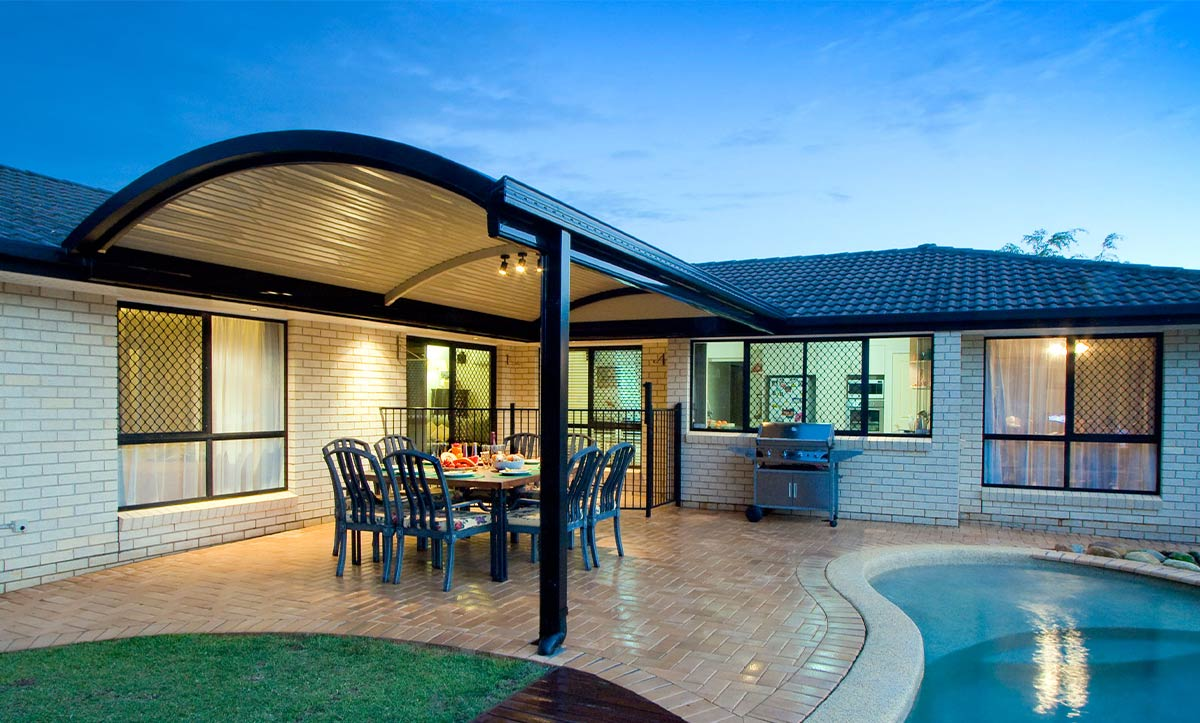 Curved Patio Roof Melbourne