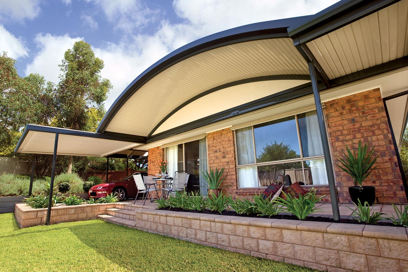Curved Patios Melbourne