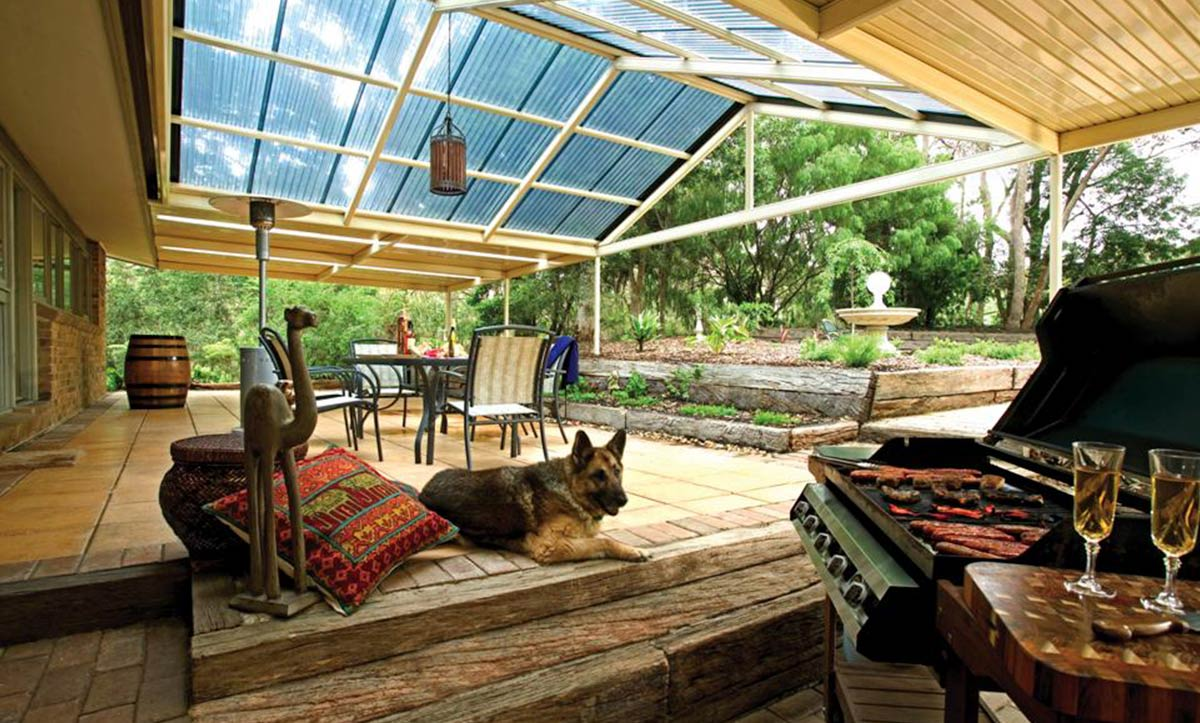 Melbourne Gabled Patio Roofing
