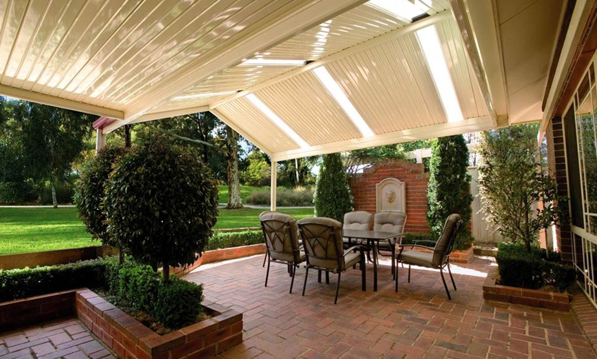 Gabled Roofing Patio Design Melbourne
